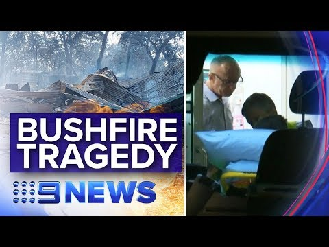 NSW Fire Emergency: Firefighters Killed, 40 Homes Destroyed | Nine News Australia