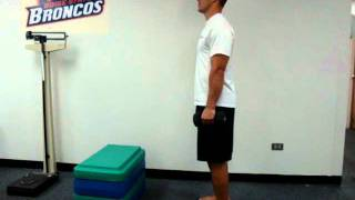 Forward Step Lunge and Step Up
