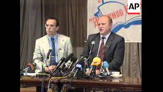 RUSSIA: ZYUGANOV SAYS YELTSIN IS IN POOR HEALTH