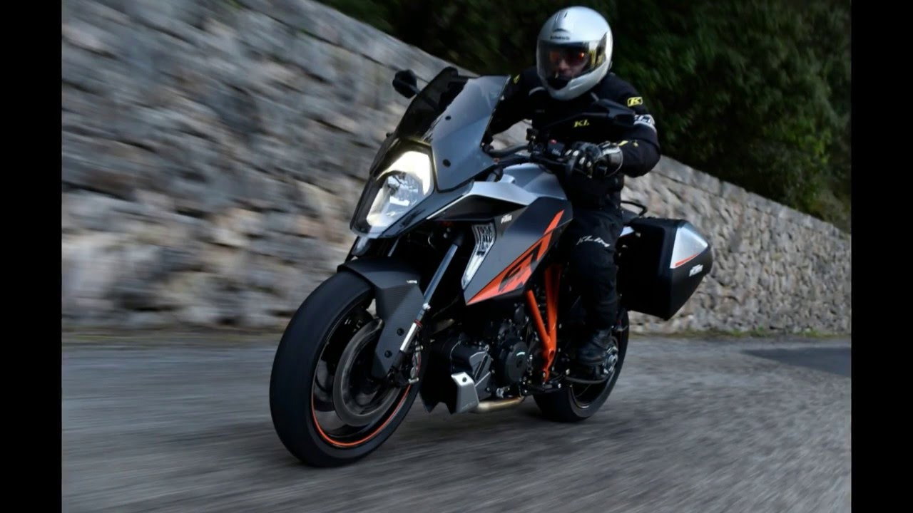 2017 ktm 1290 super duke gt - sporty sport-tourer - youtube