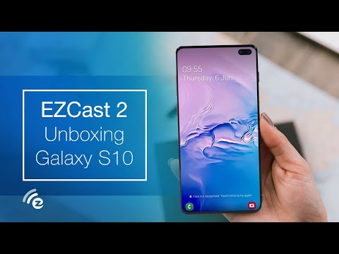 How to Smart View Samsung Galaxy S10 to HDTV - EZCast