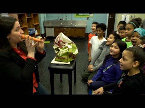 A public school music teacher wins a Grammy award