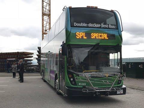 TransLink Double-Decker Bus Pilot Kick-off - November 16, 2017