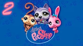 Littlest Pet Shop: The Game - 1080p60 HD Walkthrough Part 2 - Pets Plaza #2