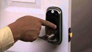 yale real living touchscreen lever lock programming user pin code registration 02