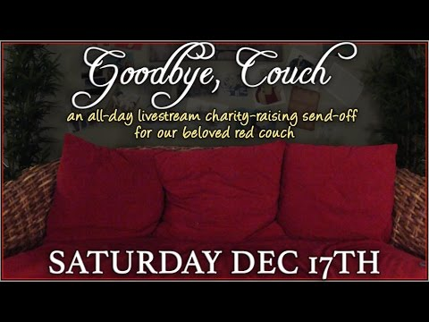#GoodbyeCouch Charity Livestream and Drunk Disney Marathon!