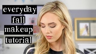 Everyday Fall Makeup Tutorial Thumbnail