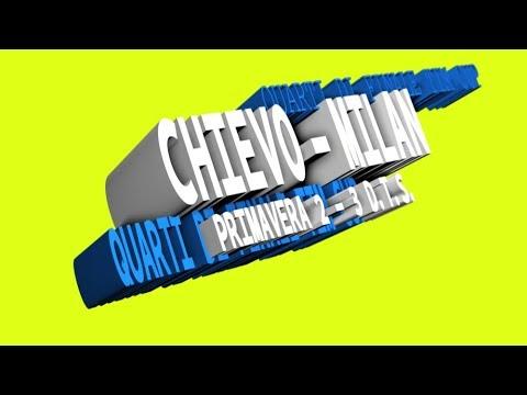 CHIEVO - MILAN 2 - 3 (d.t.s.)tim cup primavera
