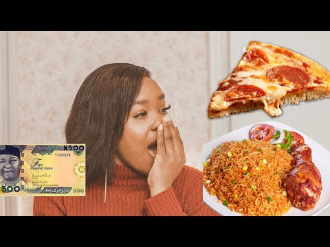 What $1 (500 Naira) Can Get You In Nigeria || Cheap Food In Lagos