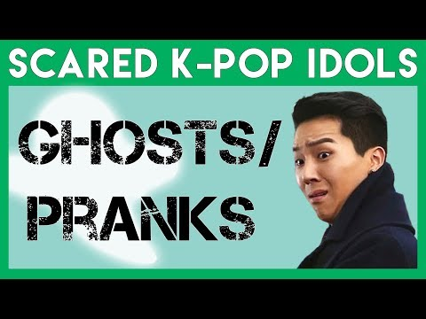 Scared K-Pop Idols: Ghosts & Pranks Edition