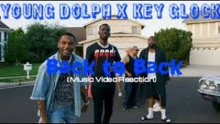 Young Dolph, Key Glock - Back to Back (Music Video Reaction)#OGM #EMS