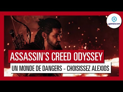 Assassin's Creed Odyssey : Trailer de Gameplay Gamescom 2018 - Un Monde de Dangers - Alexios thumbnail