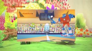 Зак и Кряк, 13 Серия, На Русском  Мультфильм для детей