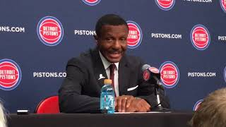 Dwane Casey: Second unit kept Pistons in game thumbnail