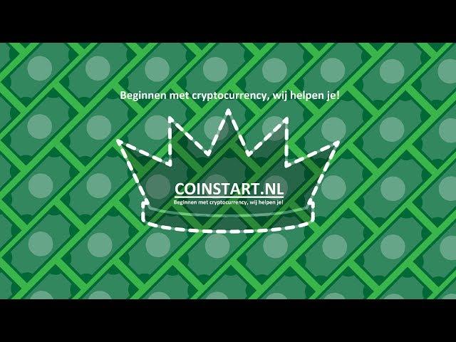 Beginnen met cryptocurrency & cryptogeld CoinStart helpt je!