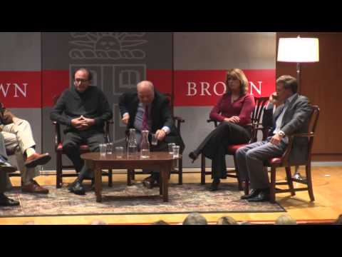Thriller Writers Panel at Brown University