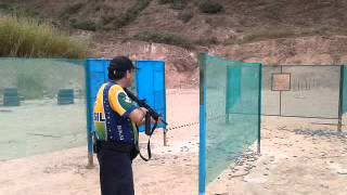 Teste do AR15 M4 Calibre .380