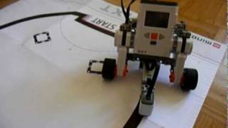 techbricks nl nxt mindstorms line follower using a color or light sensor with pid