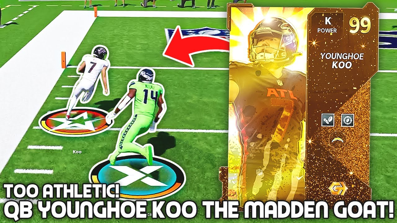 Golden Ticket YoungHoe Koo IS THE MADDEN GOAT! 100x Better than Mahomes..Madden 21