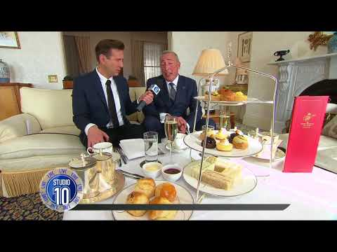 High Tea At The Melbourne's Hotel Windsor Is Like No Other | Studio 10