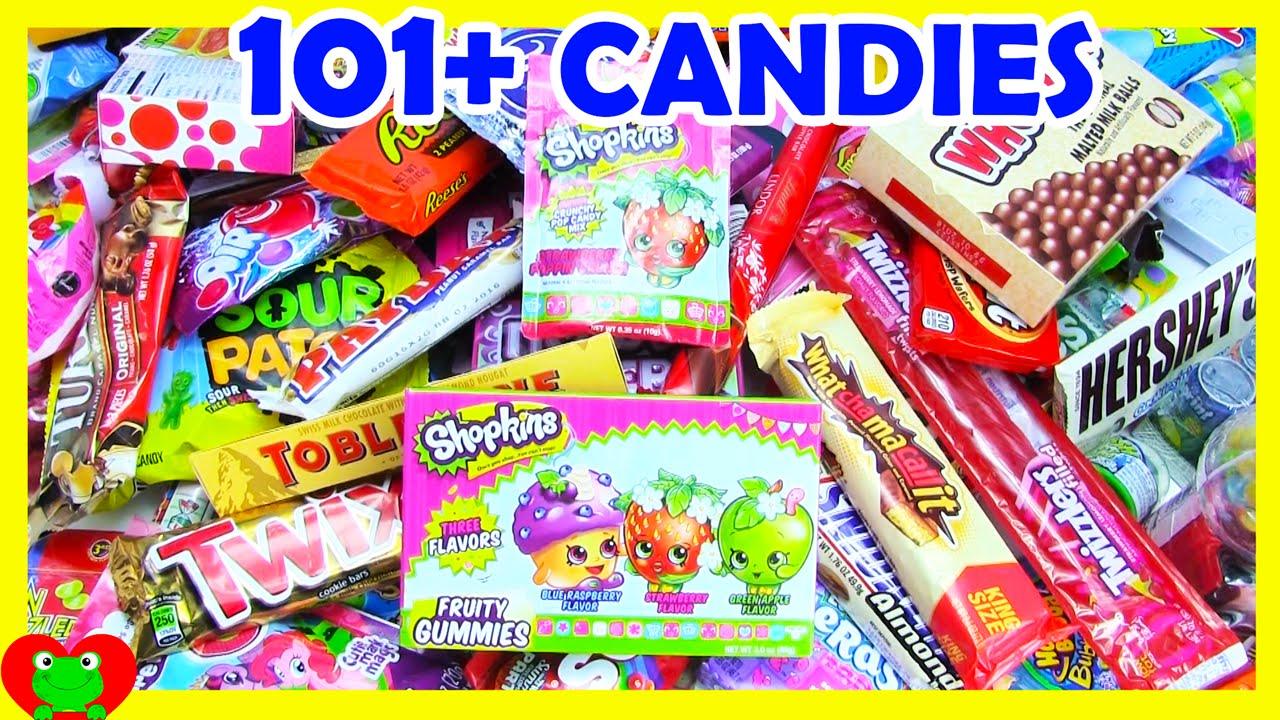 101 candies