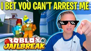 🔴 Do YOU Think You Can Arrest me for JailBreak Cash? | Roblox Jail Break Live