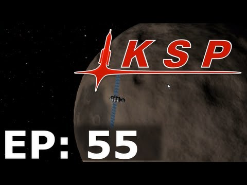 Kottabos Space Program EP55 - Getting My First Satellite Around Moho