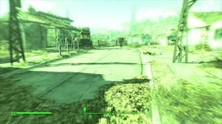 Fallout 4. Зелёный экран. Лечим глюк зеленой картинки.