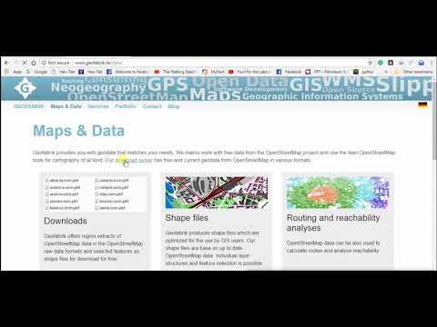 Download Free GIS Data (administrative boundaries) from geofabrik de
