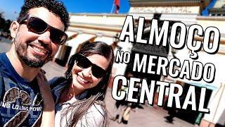 Onde comer em Santiago do Chile: vlog de viagem no Mercado Central (com preços)