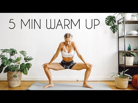 5 MIN WARM UP FOR AT HOME WORKOUTS