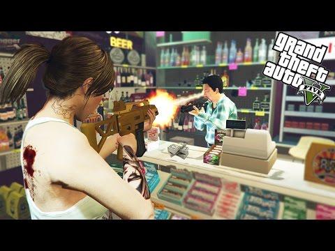 GTA 5 FREEROAM - ROBBING BANKS AND MASSIVE SPENDING SPREE! (GTA 5 Online Multiplayer Lobby)