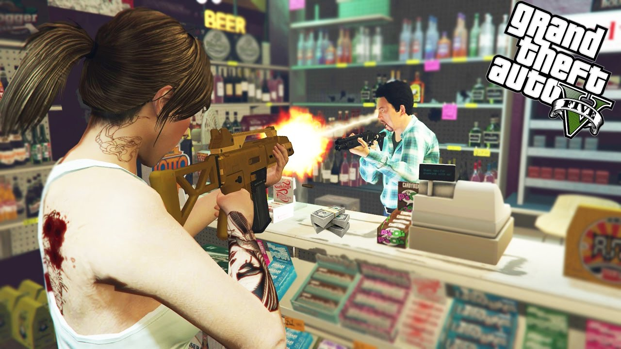 gta 5 multiplayer robbing banks