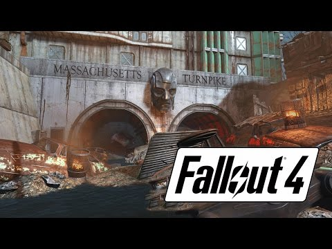 Fallout 4 - Mass Pike Tunnel