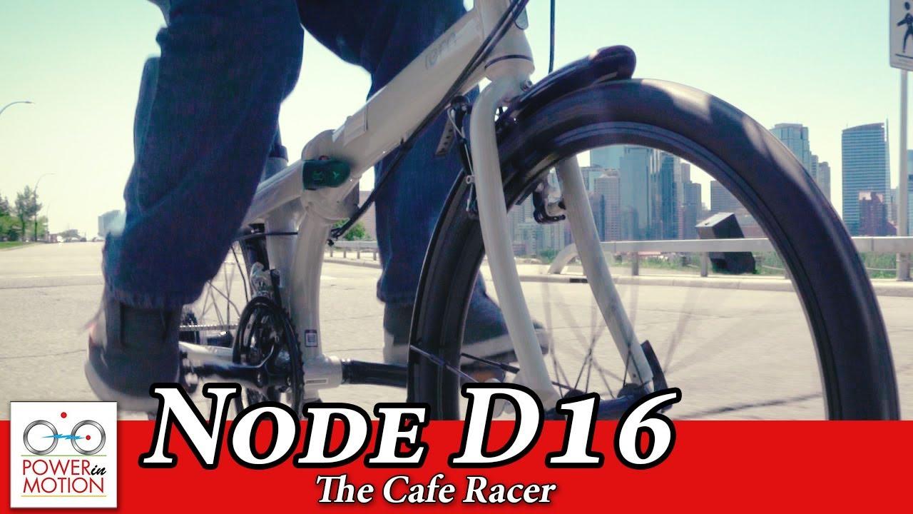 tern node d16: the cafe racer | folding bike calgary | alberta
