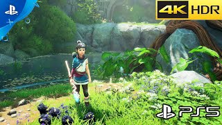 Kena: Bridge of Spirits - PS5 Gameplay 4K HDR (Fidelity Mode)