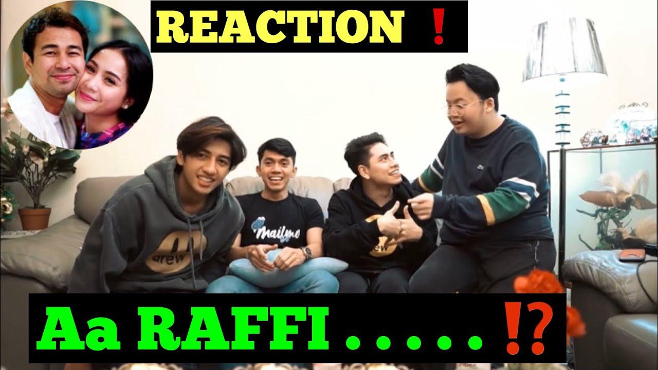 REACTION RAFFI AHMAD DI OKAY BOSSS❗️❗️❗️ NAGITA PANAS LIHAT RAFFI BOHONG !!