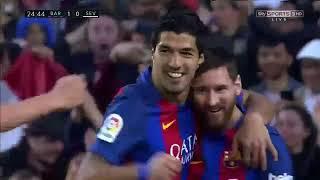 Barcelona vs Sevilla 3 0   All Goals  Extended Highlights   La Liga 05 04 2017 HD   YouTube