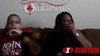 The Originals 4X9 Queen Death Reaction