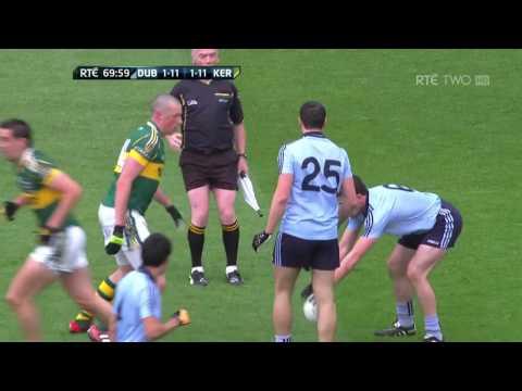 Dublin v Kerry: All-Ireland Football Final 2011, Last 10 Minutes of Play