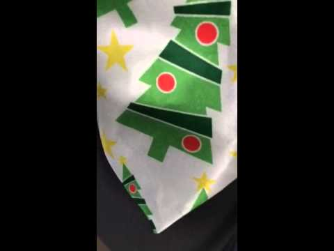 Singing Christmas tie!