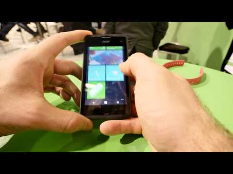 Acer Liquid M220 Hands On [4K]