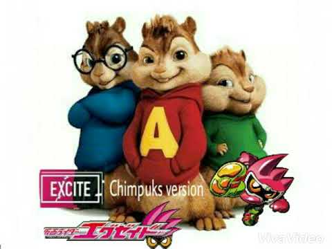 Excite -  Daichi Miura (Ost Kamen Rider Ex-Aid) Chimpunks version