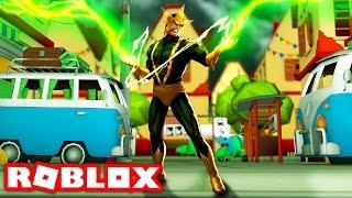 ELECTRO IN ROBLOX! (Roblox Superhero Life)