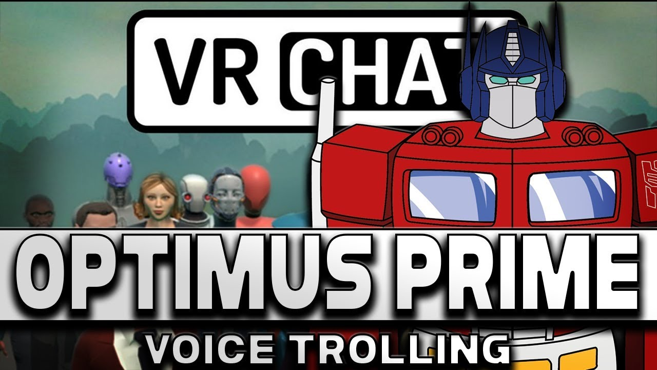 vrchat how to change voice