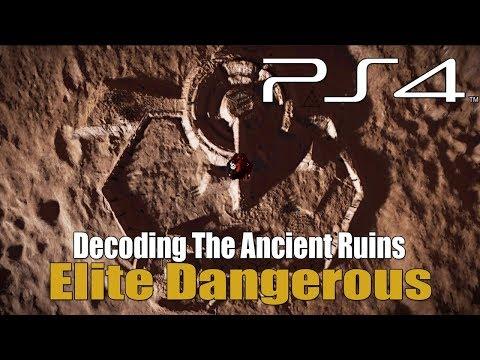 Elite Dangerous - Decoding The Ancient Ruins / The Ram Tah Mission
