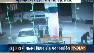 Property Dealer Shot Dead at Petrol Pump in Gurgaon, Incident Caught on Camera