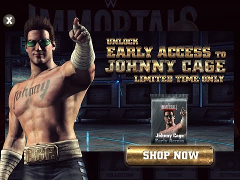 WWE Immortals - Mortal Kombat Johnny Cage Challenge Full Standard Difficulty