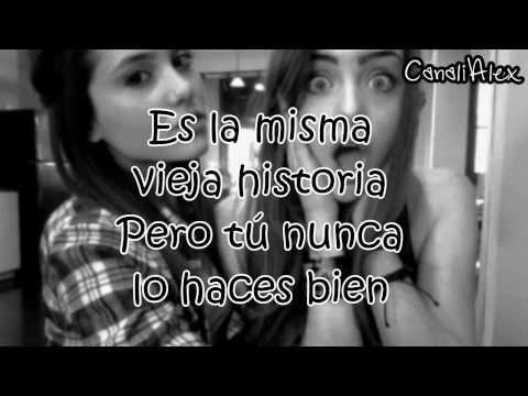 Ariana Grande ft Elizabeth Gillies  Give it up en español