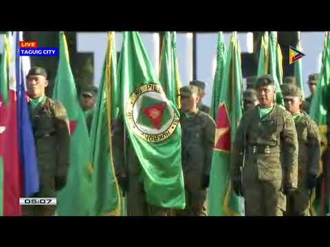 PRRD at 121st Philippine Army Founding Anniversary in Fort Bonifacio